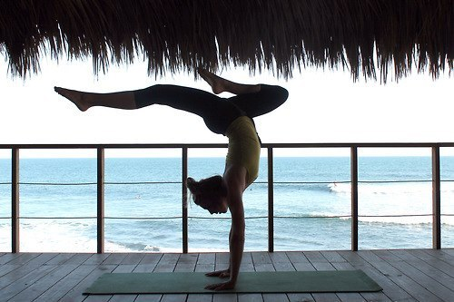 Upload your yoga photos to http://yogapos.es/  Best ones will be featured on our page.