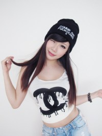 me swag girl fashion dope style beanie supreme asian ...