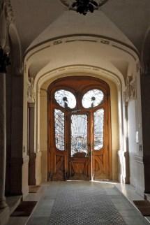 Art Nouveau Architecture Door