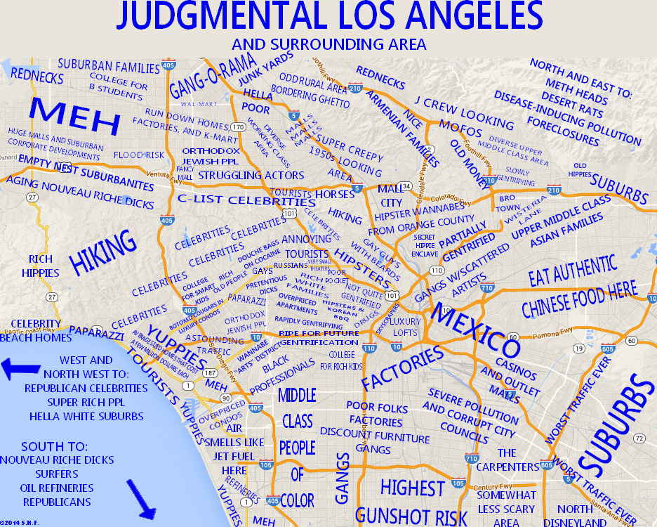 The Judgmental Persons Guide To Los Angeles Americana