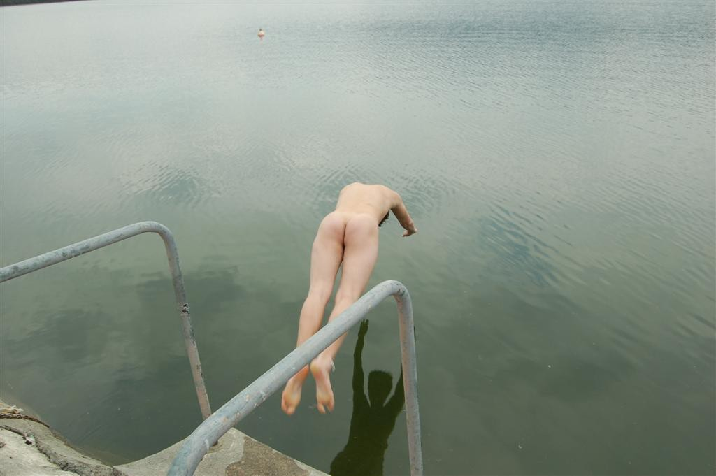 nordic boy swimming