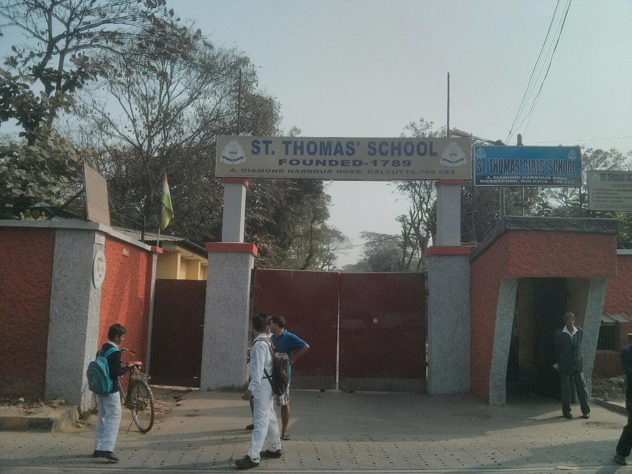 St Thomas' School at Kidderpore in Kolkata (formerly Calcutta)