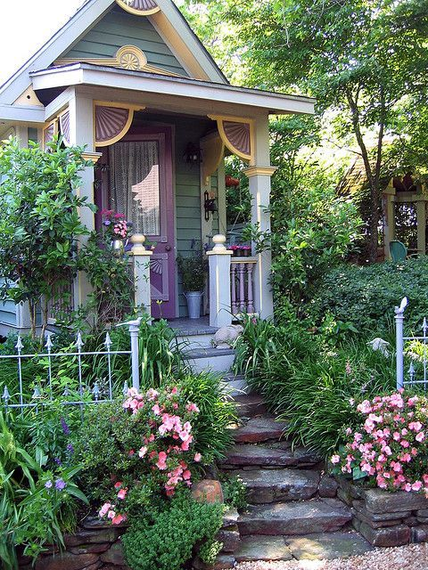Cottage Witch Garden Victorian Witch House Pagan
