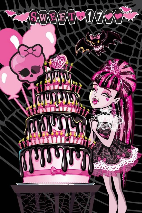 Also, Today is Draculaura's Birthday!!! Sweet 1700 !!!