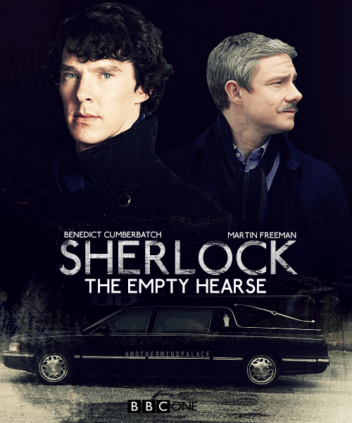 The Empty Hearse promotional poster.