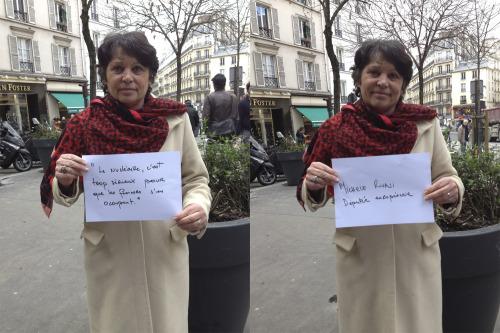 """""""Le nucléaire, c'est trop sérieux pour que les femmes s'en occupent""""</p><br /><br /><br /><br /><br /> <p>Entendu parMIchèle Rivasi, Députée Européenne."""