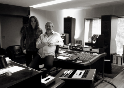 Day 1 of mastering the new album with Tim Young in London.