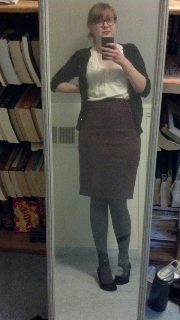My interview outfit