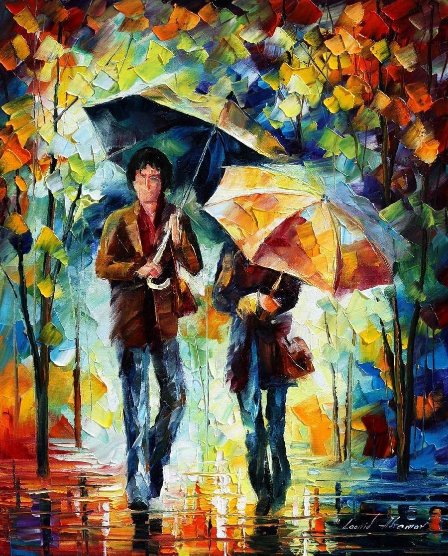 Human Fall Flat Wallpaper Paintings Leonid Afremov F L E U R D E L Y S