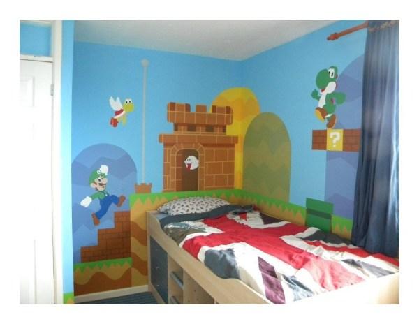 Super Mario Brothers Bedroom Ideas