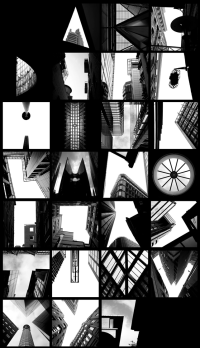 photography art Typography design architecture type ...