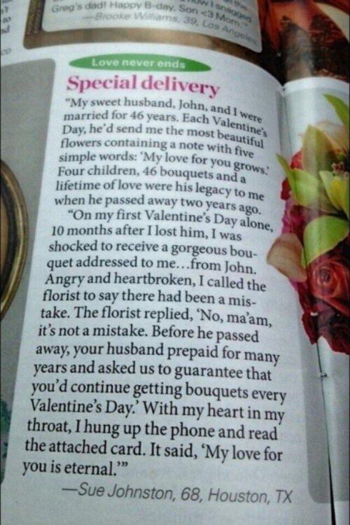 sweet valentines story