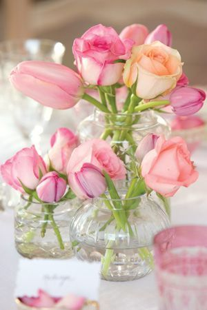 teatime bouquet / Pink for Happiness / Pinterest