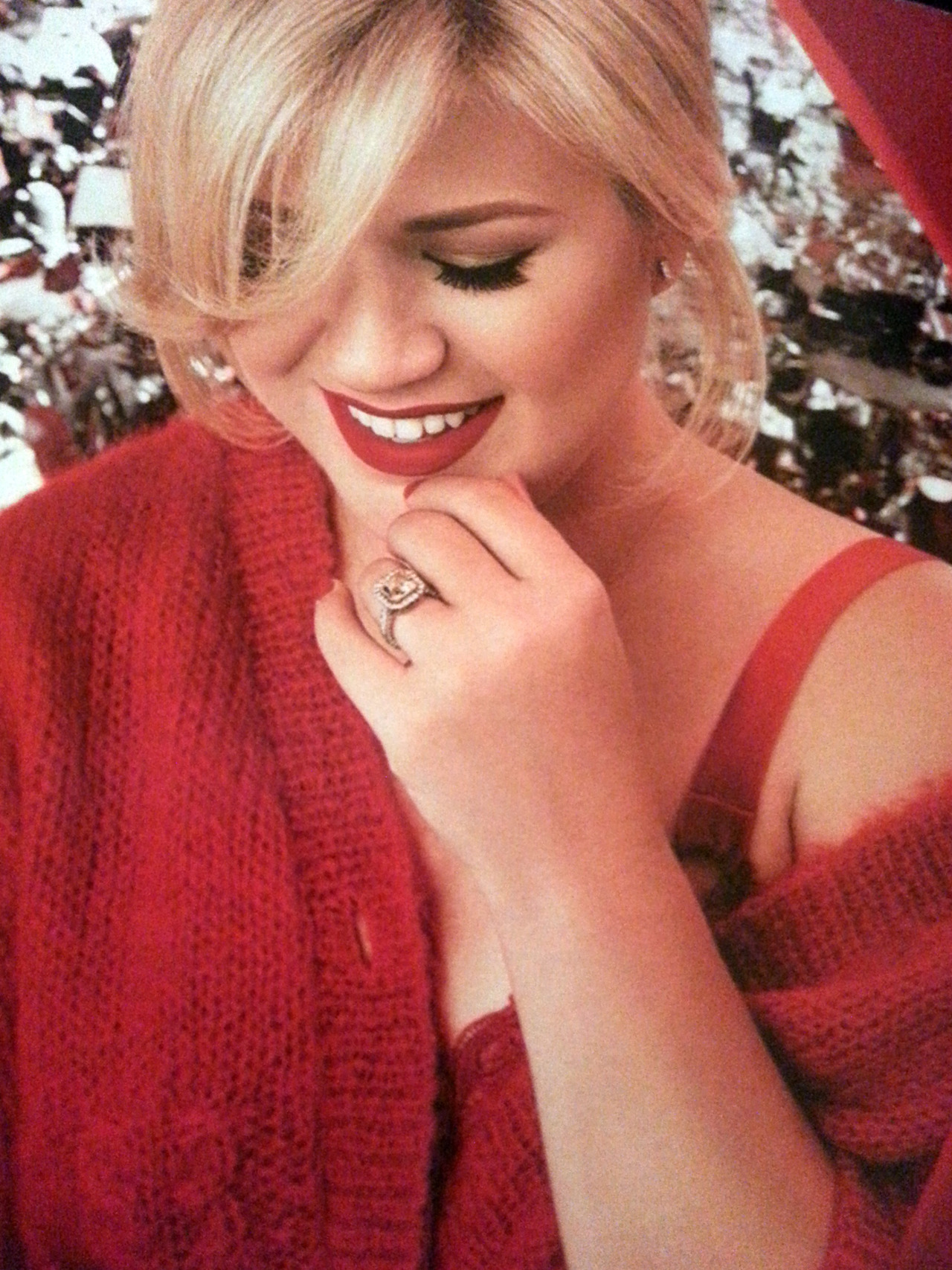 """Music Review: """"Wrapped in Red"""" «"""