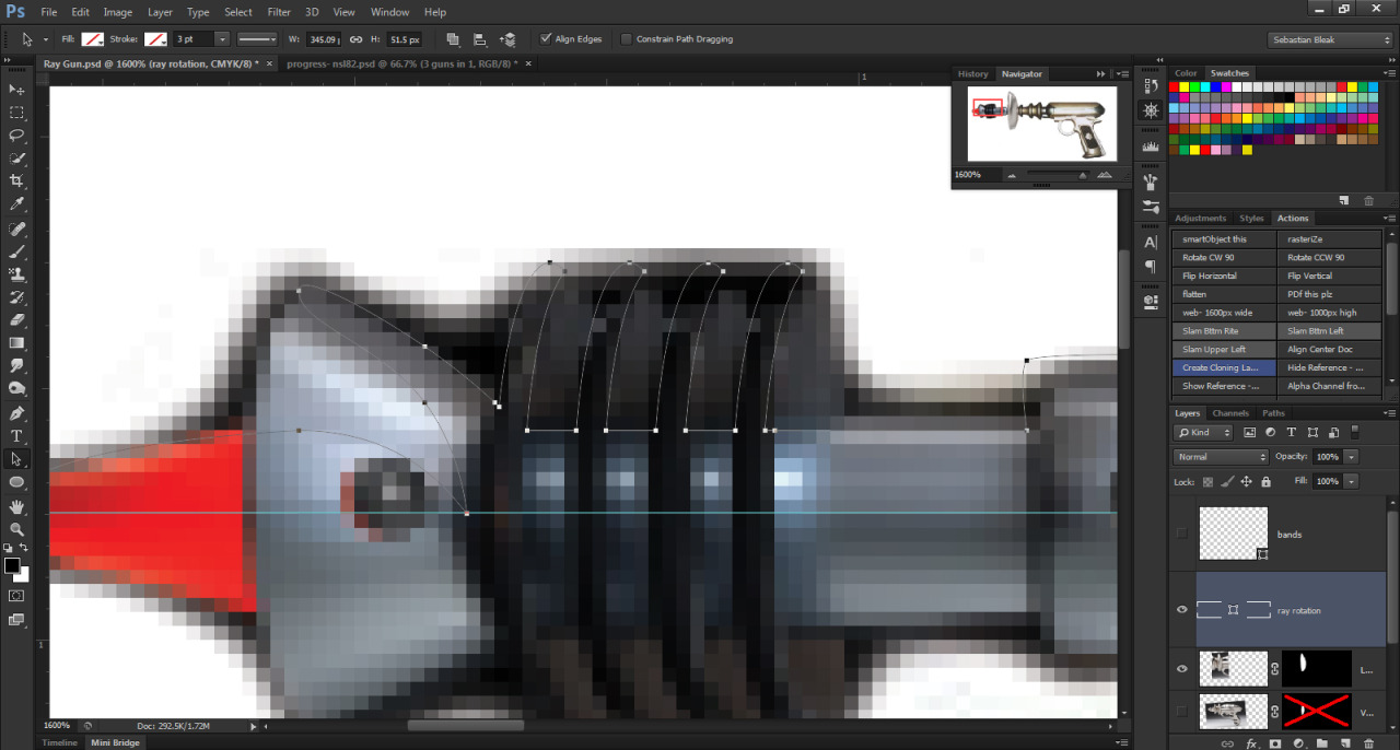 N S L: WEEK 82 – Adobe Photoshop CS6: Pen Tool New Feature