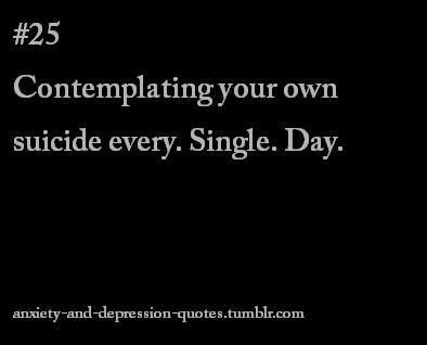 Tumblr Quotes About Depression Images & Pictures - Becuo