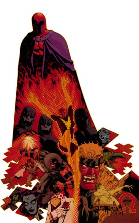 dave johnson x-men