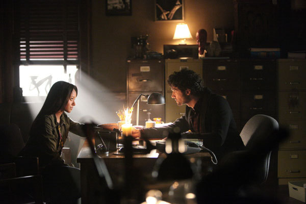 bonnie and professor shane tvd
