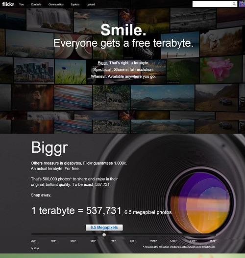 Flickr announcement