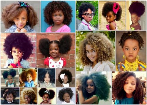 Black Girl Kids Little Girl Curly Hair Black Is Beautiful Kinky