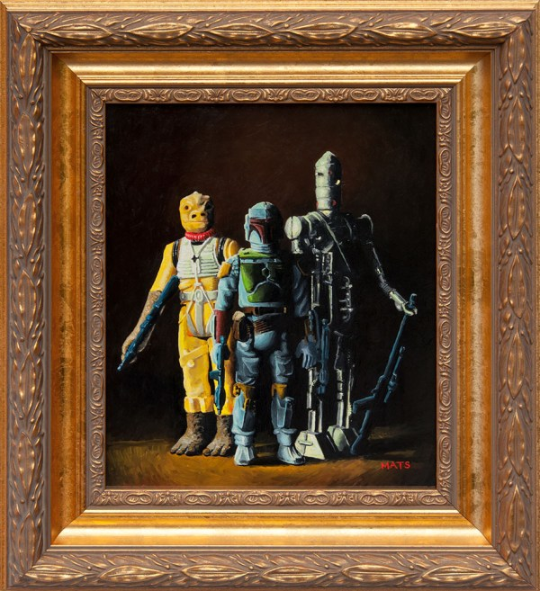 Geek Art Paintings Star Wars Action Figures