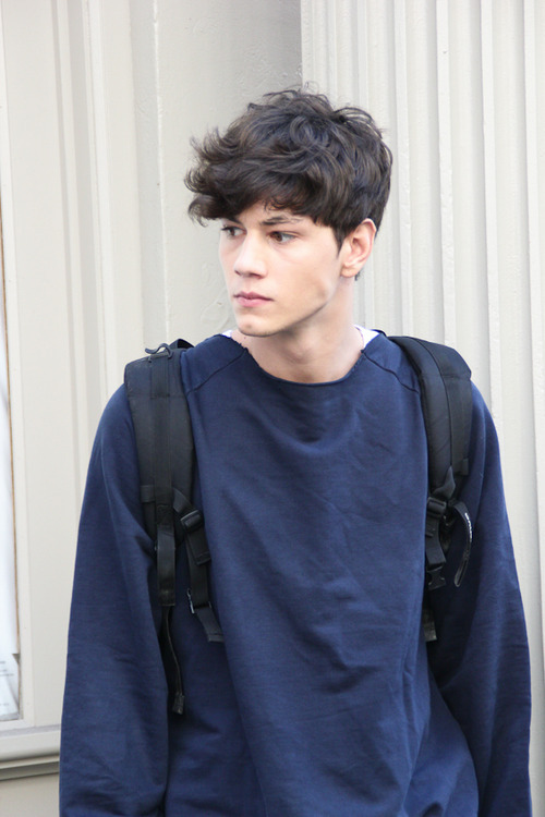 Hair Fashion Model Boy Man Simone Nobili Marco Milzani