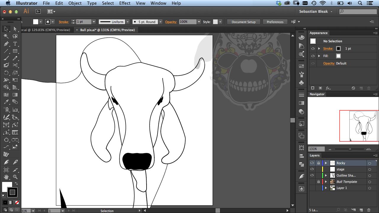Adobe Illustrator CC- Dynamic Sketch tool