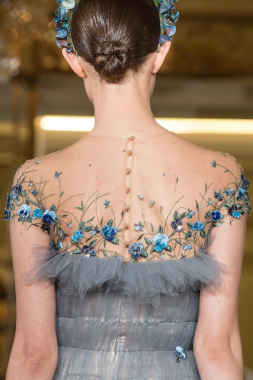 girlannachronism:</p> <p>Yanina spring 2014 couture details