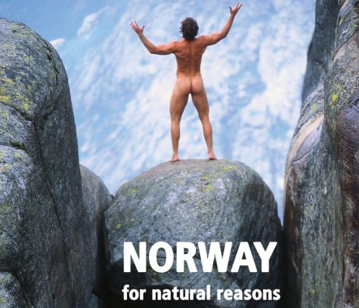 norways guy naked