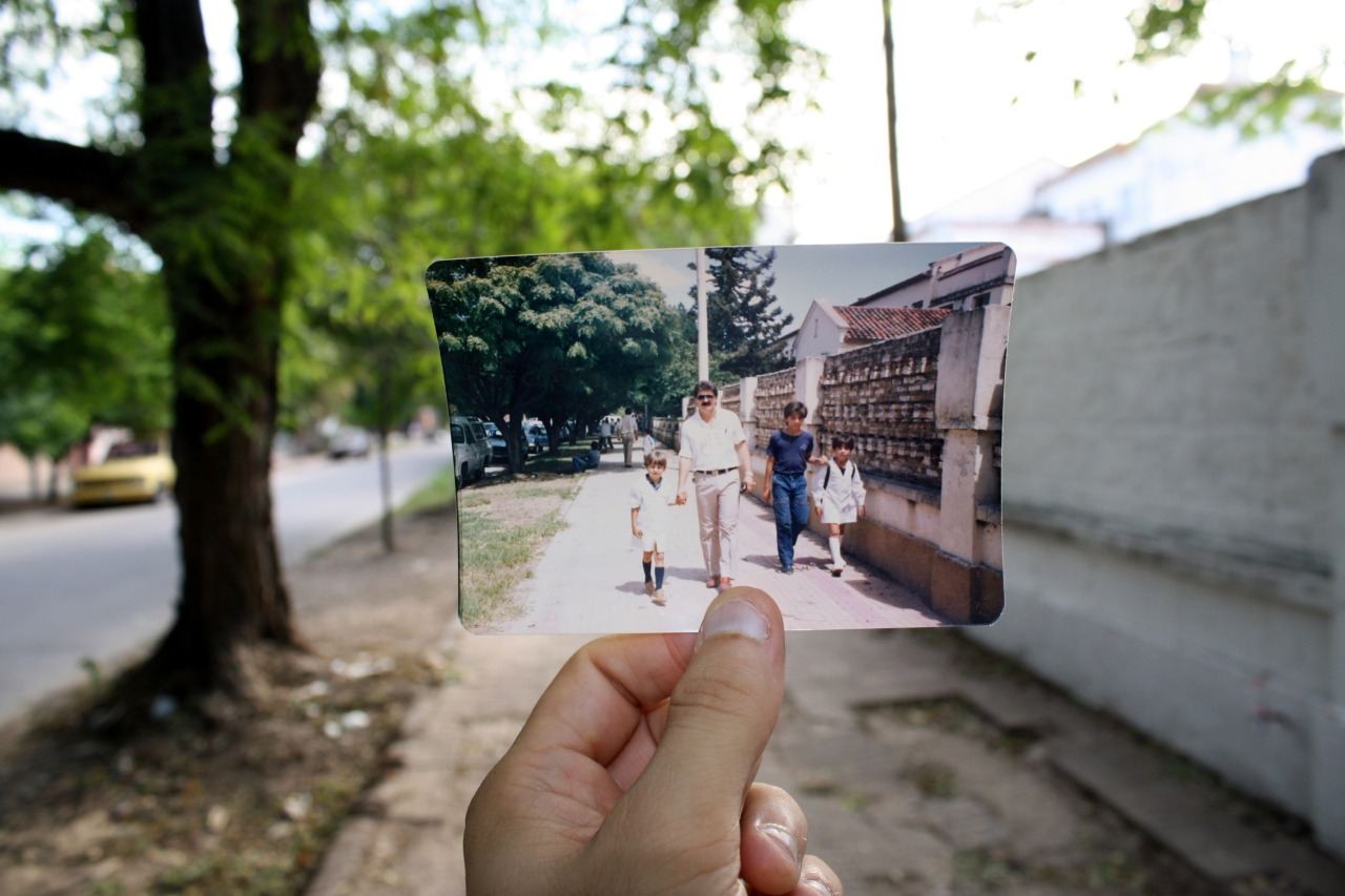 Dear Photograph,The long walk on the first day of school in Argentina always went hand in hand with my dad making it feel like it was his too. He was always there for me when I needed him…and he still is.Santiago