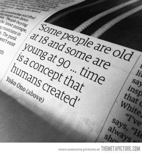 funny young old people quote