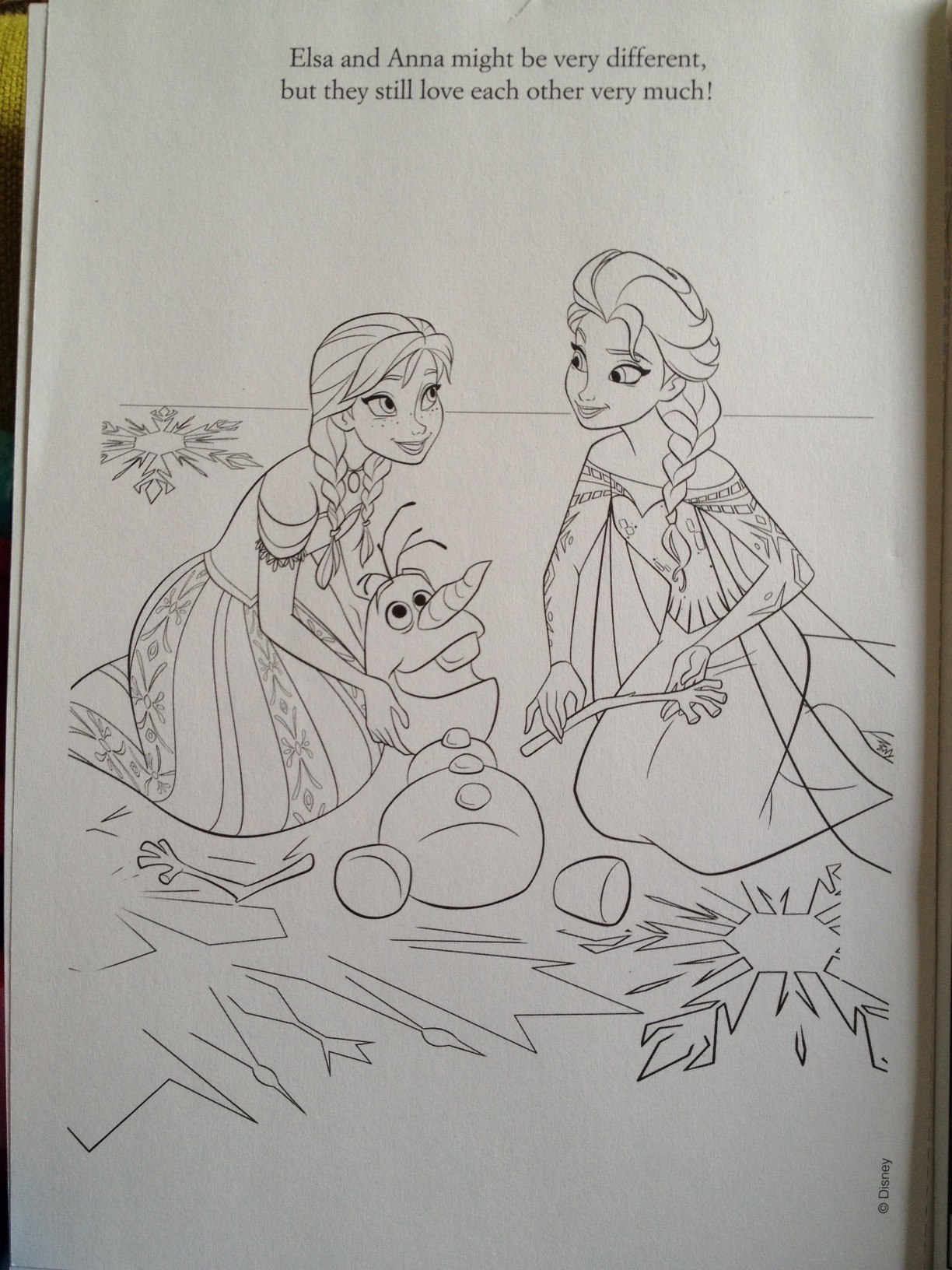 Coloring Pages Of Elsa From Frozen