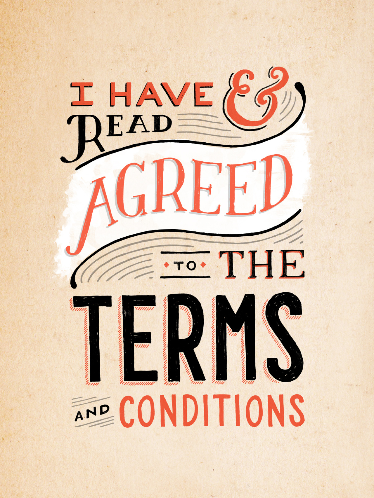 I have read & agreed to the terms and conditions