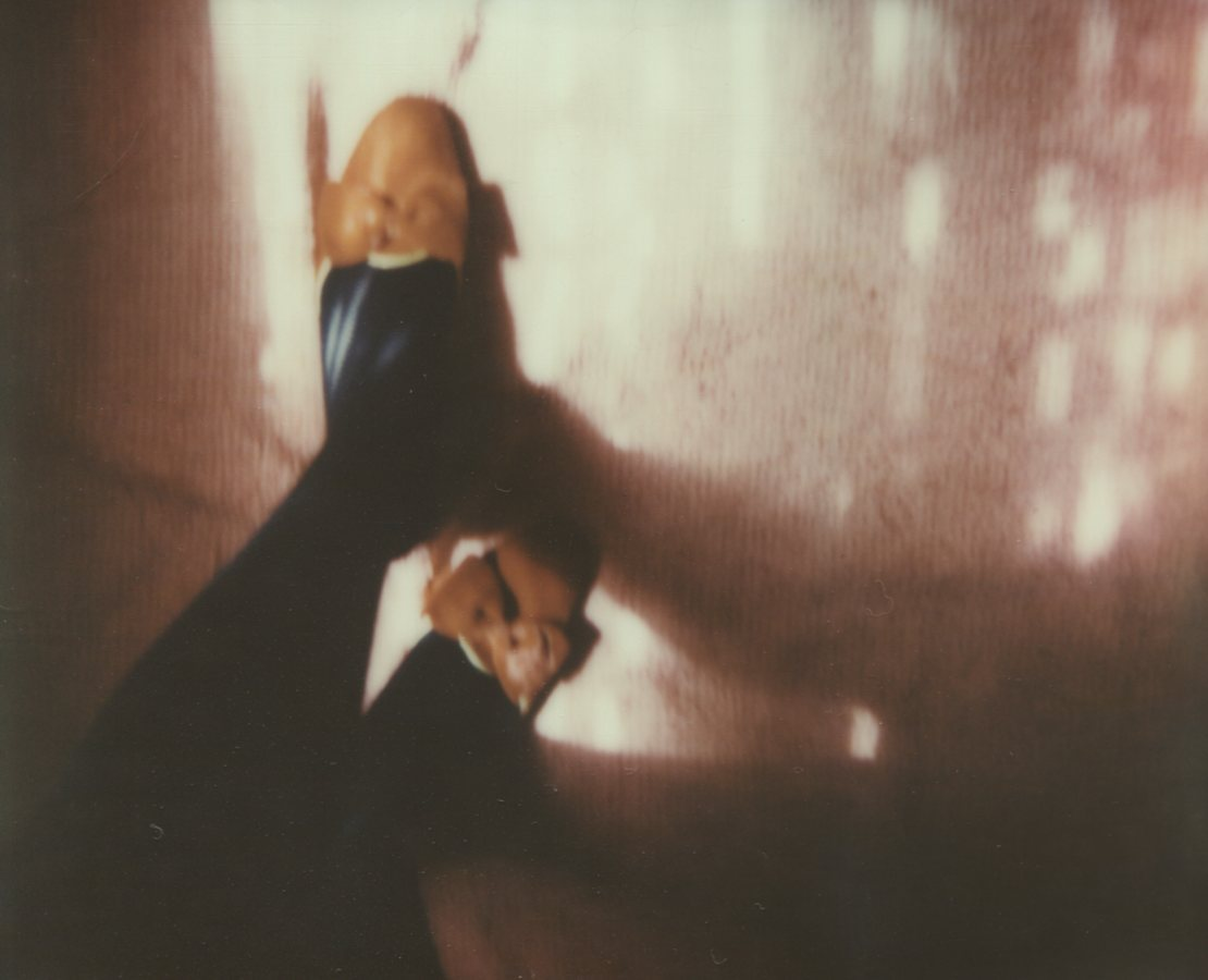 Light Up My Rubies, Self PortraitThe IMPOSSIBLE Project, CP PZ680 Film© Anna Marcell