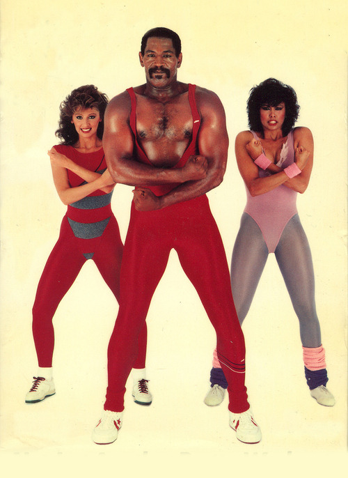 My immune system (get lost virus, you ain't getting through here). heymonster: jazzercise!