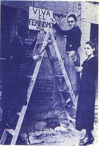 """""""Viva El Feminismo"""" circa 1936"""