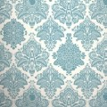 Damask wallpaper even if it s just in the bathroom when i visited