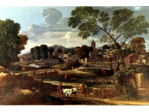 Nicolas Poussin, Burial of Phocion, ca.1648