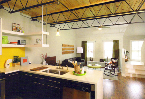 Main Floor of Town Loft Model