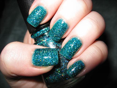attackedastoria:  china glaze, atlantis