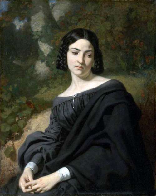 A Widow 1840 Thomas Couture