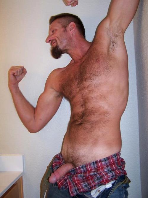 Naked dirty straight redneck men balls