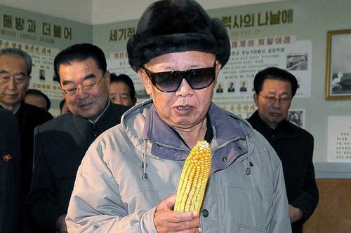 looking at corn