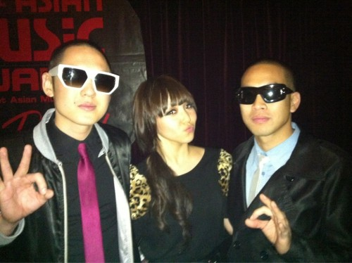 101202 Min's Twitter With fareastmovement yay! @fareastmovement