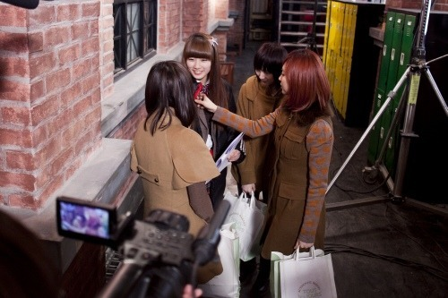 miss A on Dream High set