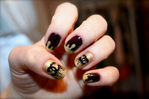 Nail obsession chanel nail designs le belle amour share the love prinsesfo Image collections