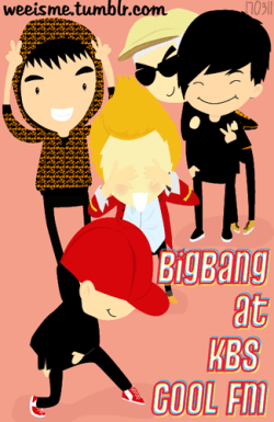[FANART]  ★ BIGBANG at KBS COOL FM ~<br /><br /><br /><br /><br /> ≧▽≦<br /><br /><br /><br /><br />