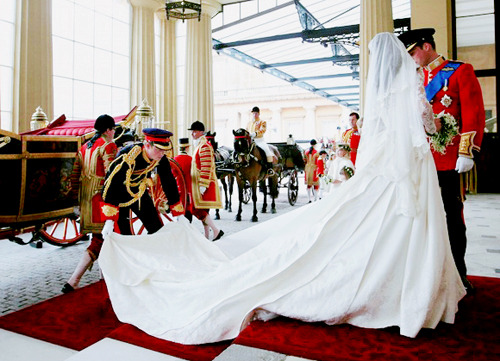 Congrats to the newlywed royals. Happy Royal Friday!