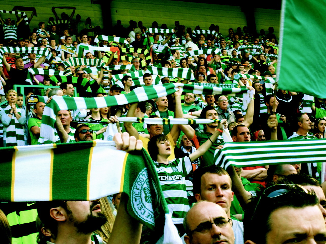 I tifosi del Celtic