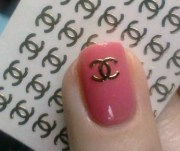 chanel 14k nail decals awesome